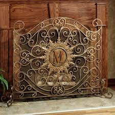kingston monogram fireplace screen fireplace accessories