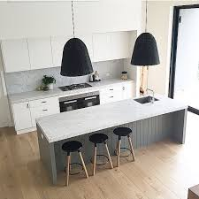 Kitchen Islands Melbourne Colours Cladding Island Bench Splash Back Calamity