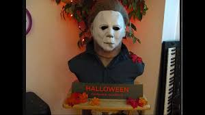 custom michael myers bust halloween youtube
