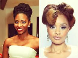 amazing natural hair up dos for wedding day bibinigh