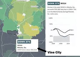 segregation by race and home value in atlanta darin givens medium
