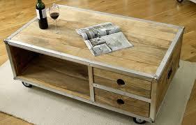 Rustic Coffee Table With Wheels Top Handmade Design Rustic Coffee Table On Wheels Their Size Round