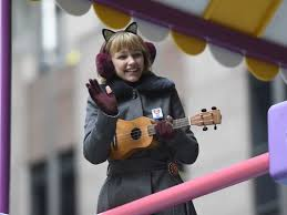 grace vanderwaal performs at macy s thanksgiving day parade