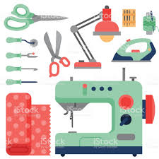 thread supplies accessories sewing equipment tailoring fashion pin