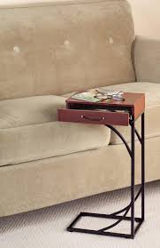 side table with laptop storage quirky name for a novel concept the slide under couch table