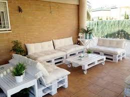 petit salon de jardin pour terrasse faire un salon de jardin en palette deco cool