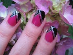cute and easy nail art with scotch tape diy at home for