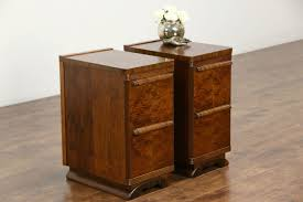 bedroom nightstand art deco night tables unfinished wood