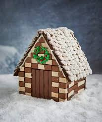 wafer cookie gingerbread house recipe the end country houses