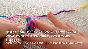 diy finger knitted yarn necklace smidgen of delight youtube