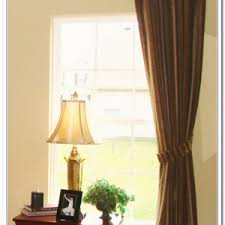 Hanging Drapes From Ceiling Hanging Curtain Rod From Ceiling Curtain Curtain Image Gallery