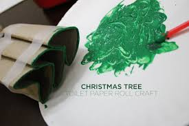 simple and quick toddler christmas toilet paper roll craft
