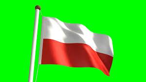 poland flag video seamless u0026 green screen motion background