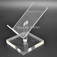Iphone Holder For Desk by Acrylic Display Holder Cell Phone Stand Mobile Dummy Desk Support
