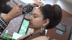 bridal air brush make up by vidya tikari on www myshaadi in youtube