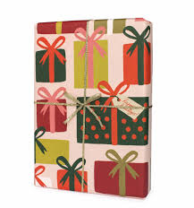 presents wrapping sheets by rifle paper co made in usa