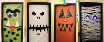 Frankenstein Door Decoration Halloween Diy Front Door Decorations Diy Halloween Door