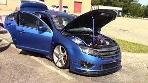 2013 ford fusion spoiler ford fusion with unique carbon fiber lip spoiler