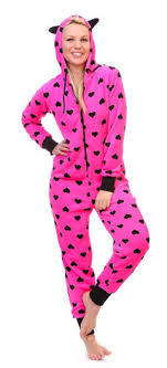 review totally pink s warm and cozy plush onesie pajama