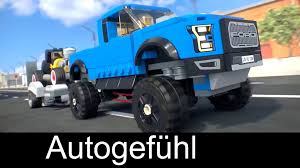 lego ford truck ford lego speed champions commercial with f 150 raptor u0026 rod