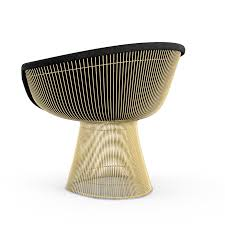 Warren Platner Chair Platner Lounge Chair In Gold Knoll