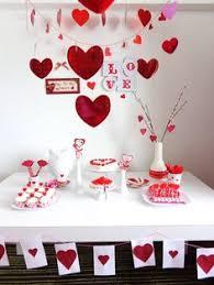Valentine Party Table Decoration Ideas by Decoracion De Amor Y Amistad Rojo Blanco Y Negro Eje Cafetero