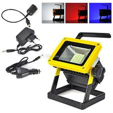 10w rechargeable flood light hand held 10w rechargeable smd led floodlights 18650 battery powered