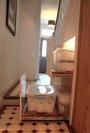innovative under stair storage solutions design idea with clever