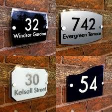 acrylic address plaque top acrylic address plaque with acrylic