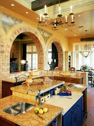 kitchen room tuscan style kitchen decor kitchen island with sink