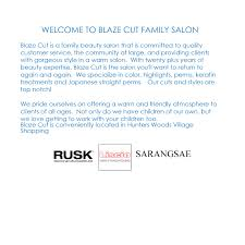 blazecut family salon a family salon