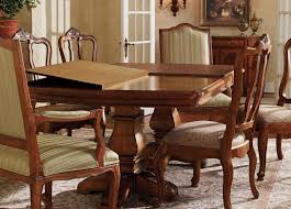Tuscan Dining Room by Ethan Allen Dining Table High End Used Furniture Ethan Allen