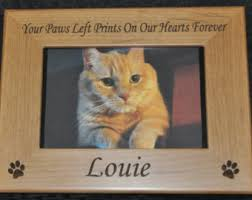 personalized cat gifts pet frame pet loss frame cat frame personalized pet frame loss