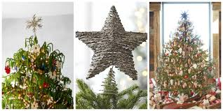 Country Star Decorations Home by 17 Unique Christmas Tree Toppers Cool Ideas For Tree Toppers