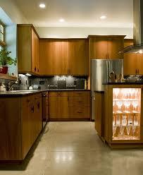 Modern Cherry Kitchen Cabinets Modern Cherry Wood Kitchen Seattle
