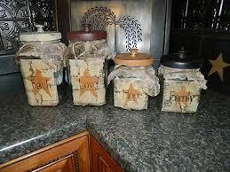 primitive kitchen canisters 167 best canister sets images on canister sets