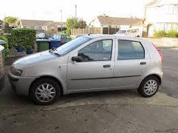 fiat punto 2002 fiat punto 1 2 2002 silver 5 doors mot until oct 2017 in