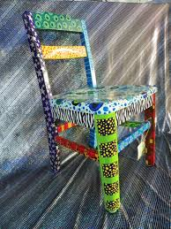 Painted Chairs Images 40 Best Painted Chairs Images On Pinterest Painted Chairs