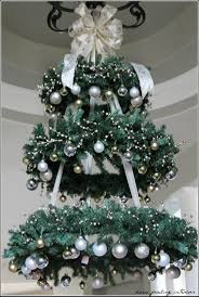Ornament Chandelier Diy by Best 25 Hanging Christmas Decorations Ideas On Pinterest