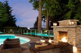 Outdoor Fireplace Designs - outdoor fireplace designs porch traditional with back porch glass