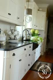 Changing Cabinet Doors In The Kitchen by Farmhouse Kitchen Changes Stonegable