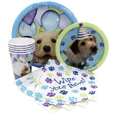 puppy party supplies yeah this has liliana written all it akiras bday