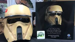 nissan rogue one helmet star wars rogue one 1 1 scale shoretrooper helmet by anovos review