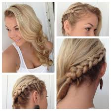 22 stunning curly prom hairstyles with braid u2013 wodip com