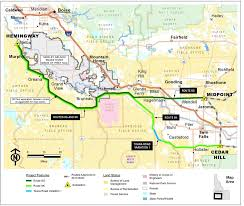 Blm Maps Colorado by Blm Signs Off On Idaho Portion Of Gateway West Power Line Boise