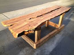 hand crafted olive flitch bench by design build custommade com