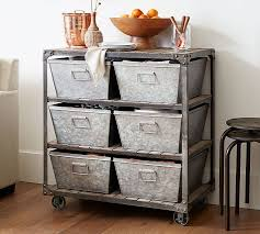 Pottery Barn Storage Bins Turlock Storage Table Pottery Barn