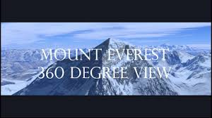 Mt Everest Map Mount Everest 360 View Satellite Imagery Map Video In Google