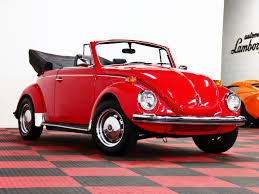 red volkswagen convertible 1971 volkswagen super beetle convertible