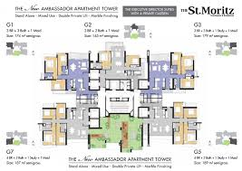 mapping layout perusahaan luxury living at the st moritz penthouses and residences
